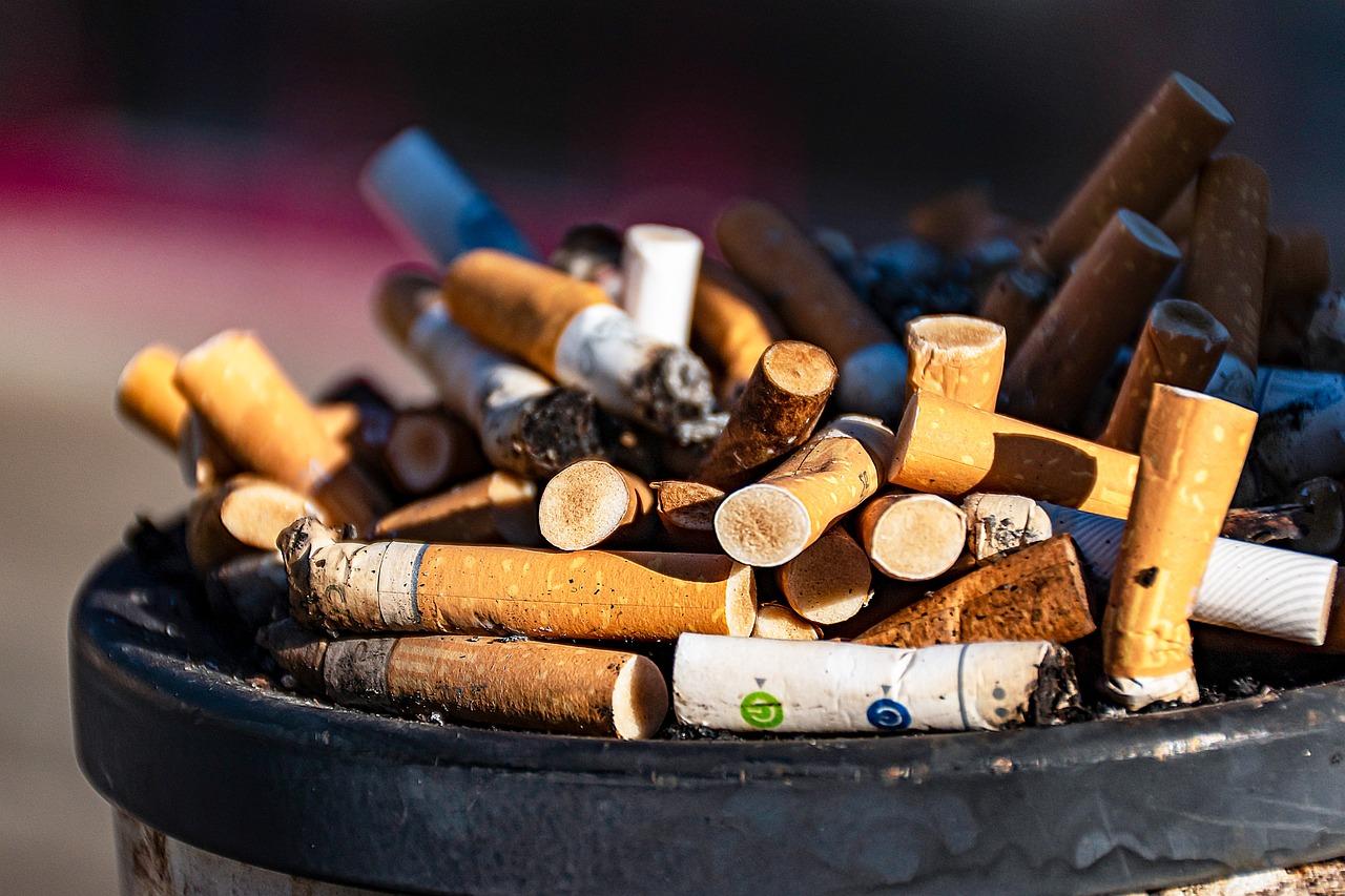 Smoking causes cough