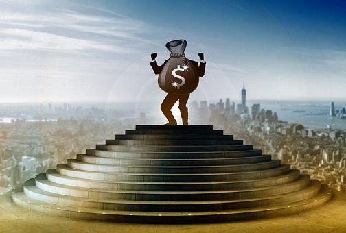Scale, Uomo D'Affari, Business, Dollar