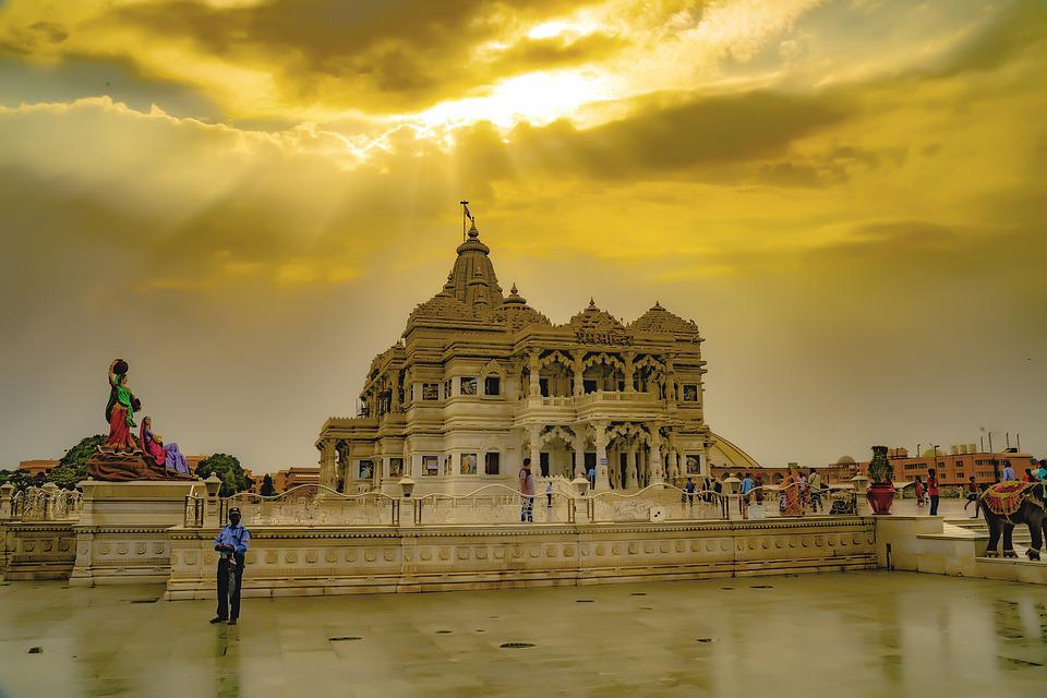 The heritage cities Vrindavan and Mathura