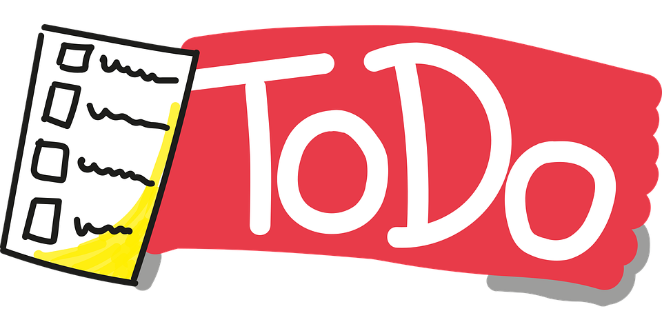Todo, Sketch Note, List, Tasks, Stay Organized