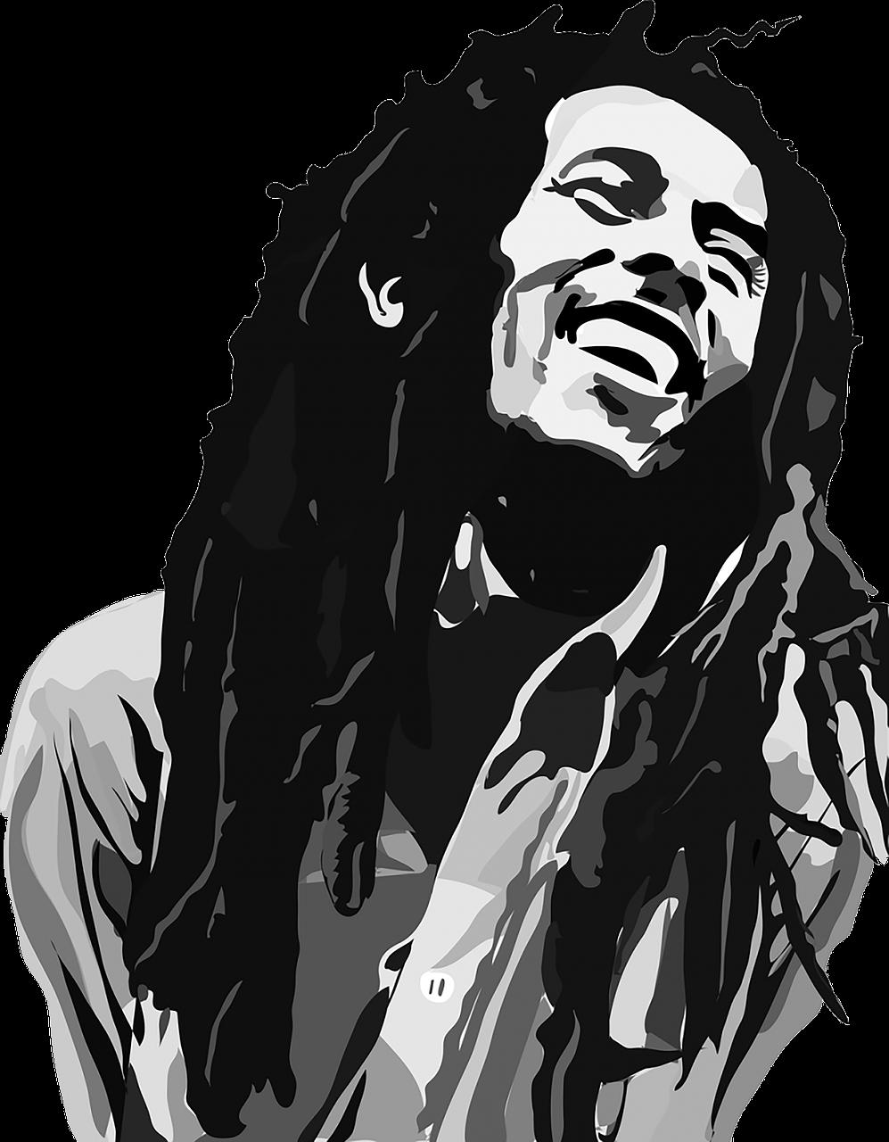 Bob Marley Gulma Gambar Gratis Di Pixabay