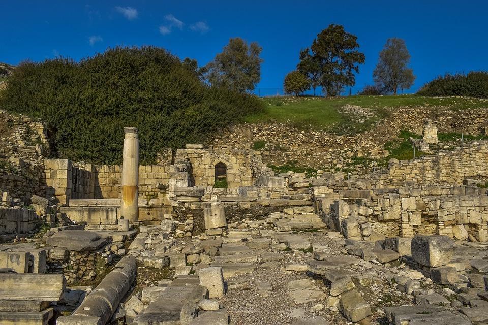 Ancient Amathus, Ruins, Archaeology, Limassol, Cyprus