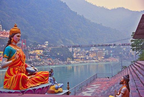Rishikesh, India, G, Shiva, Hindu, Shiv
