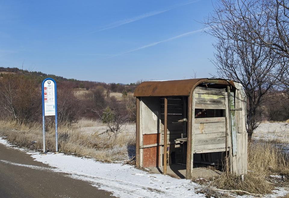Przystanek Autobusowy, Obszarów Wiejskich, Bułgaria