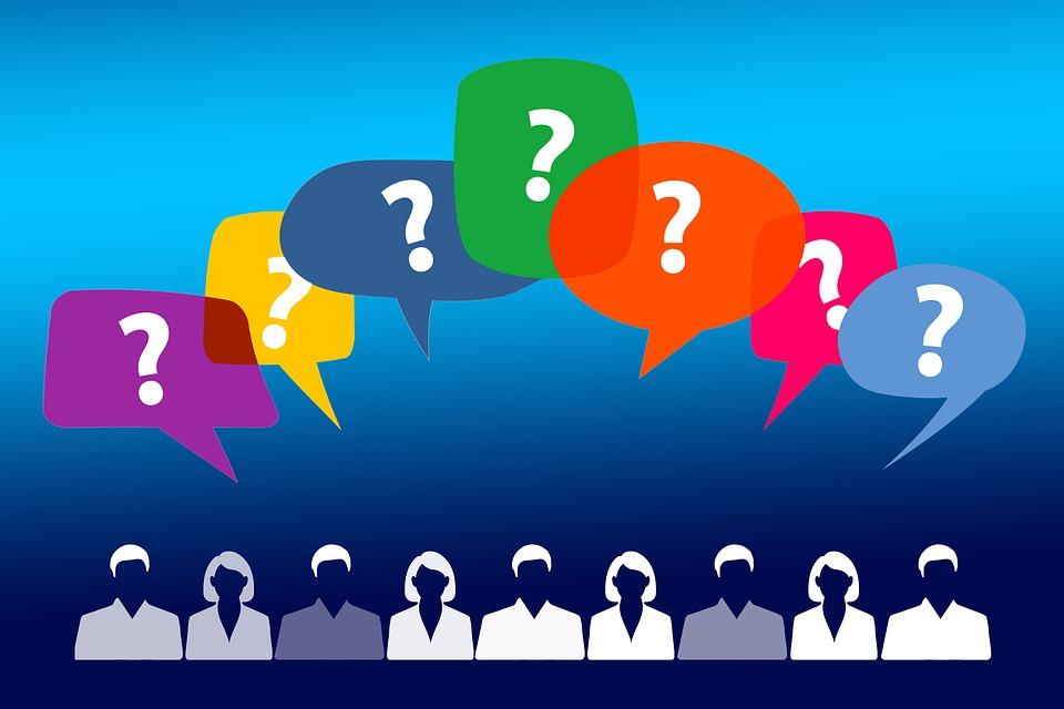 Pytanie, Znak Zapytania, Osobowych, Silhouettes