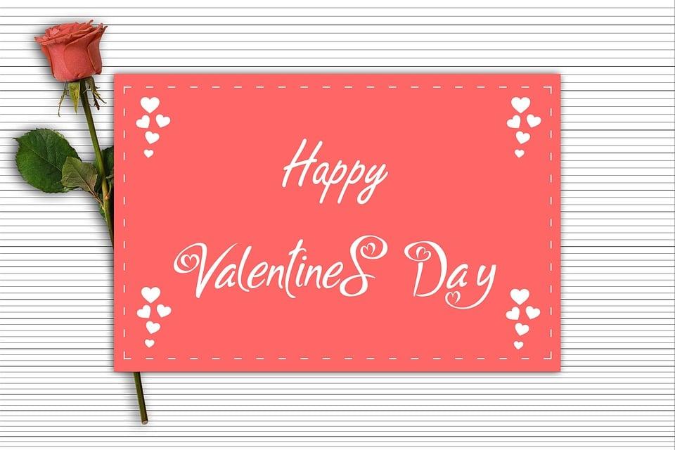 Alla Hjärtans Kort, Älskande Dag, Design, Romantisk