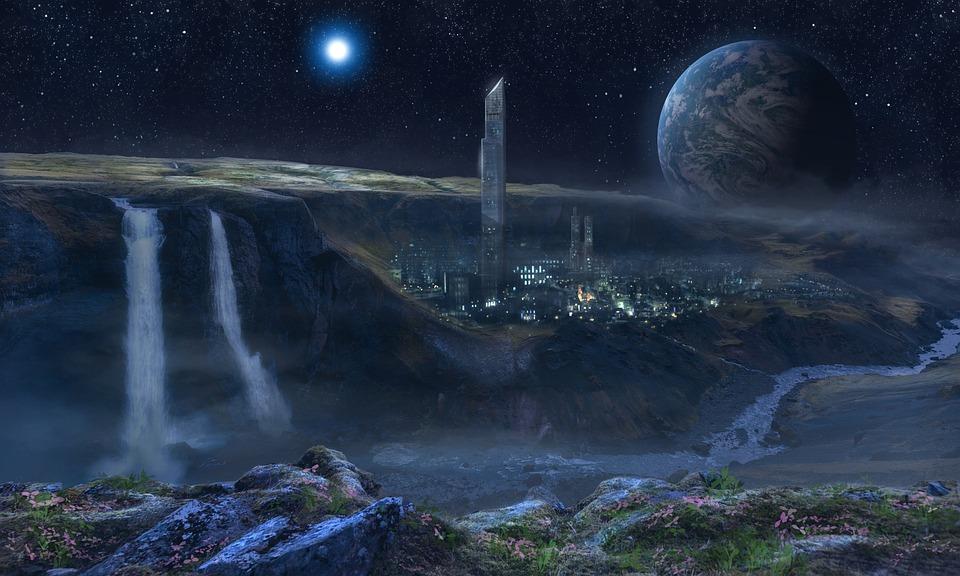 Planets, Stars, Moon, Galaxy, Astronomy, Fantasy