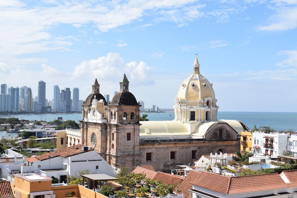 Cartagena De Indias, Colombia, Vista, Arquitectura