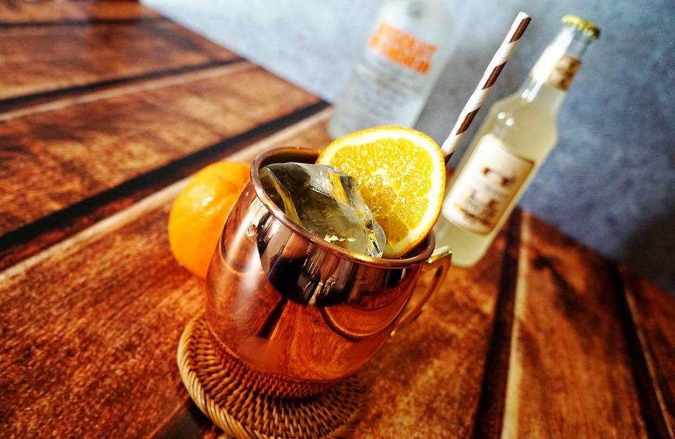Mandarin Mule, Moscow Mule, Ginger Beer BBQ recipes