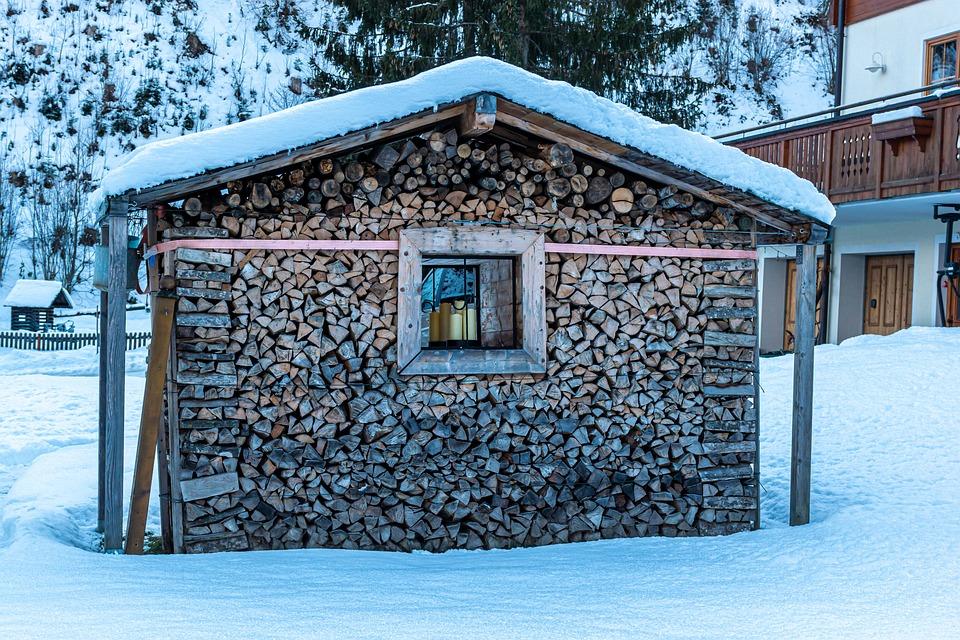 Drewno, Dom Z Drewna, Barn, Dom, Okno, Drewniane