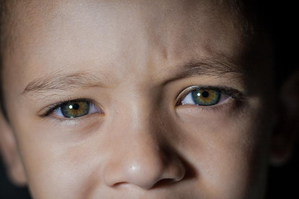 Oko, Dziecko, Kochanie, Oczy, Portret, Dzieciństwo