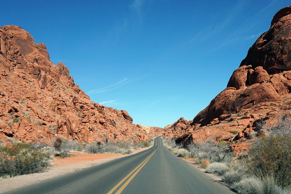 Nevada Valley of Fire Desert Landscape Red Sandstone Nature Travel Photography Fine Art Photography matted /& signed Original Photograph