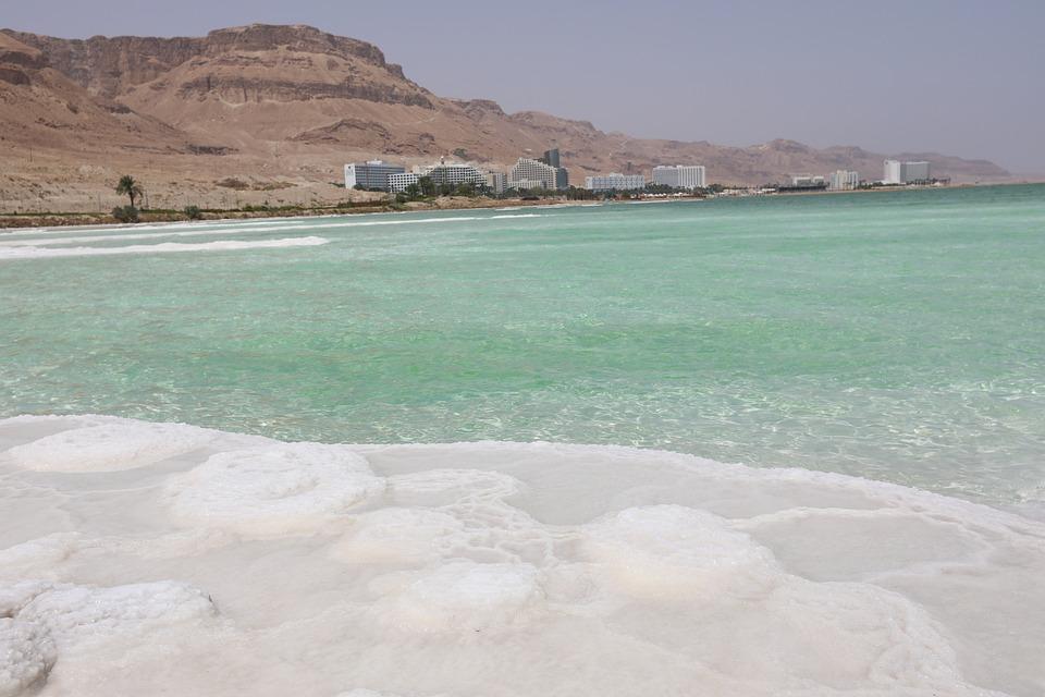 海, 塩, 水, イスラエル, デッド シー, 自然, 風景, 砂漠, 砂, 青, 休暇, 崖, 東, 石