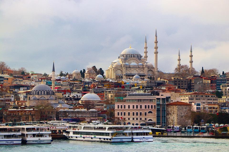 Cami, Istambul, Turquia, Minarete, Dome, O Ramadã