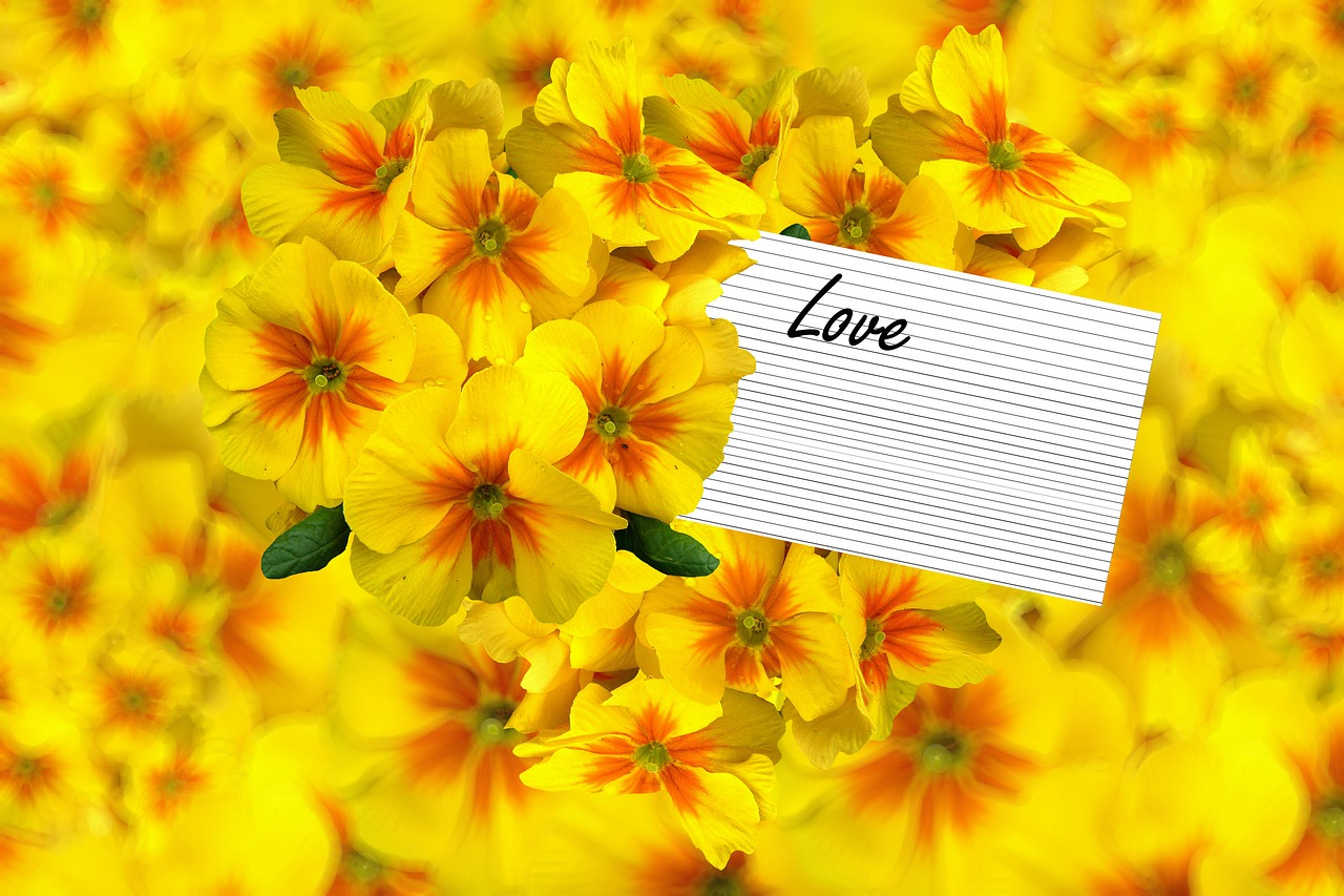 Background Floral Yellow Flowers Free Image On Pixabay