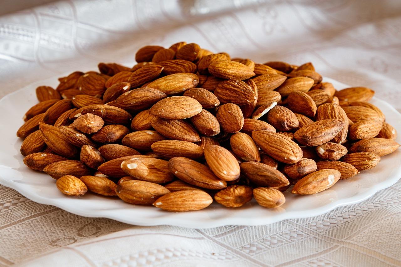 Almonds Nuts Ripe