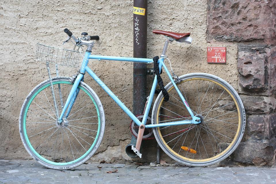 Velo, Fahrrad, Fahrradfahren, Fortbewegung, Speichen