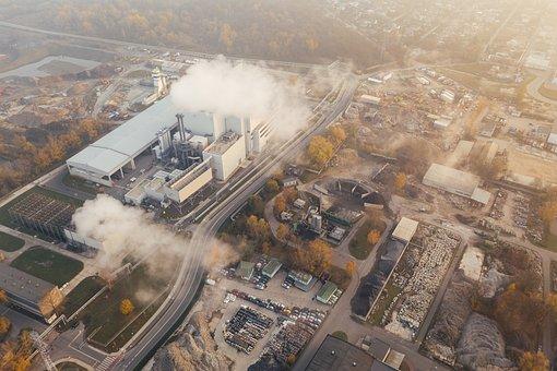 La Pollution, Environnement, Drone, Air