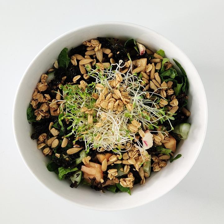 Salad, Food, Healthy, Vegetables, Fresh, Lettuce