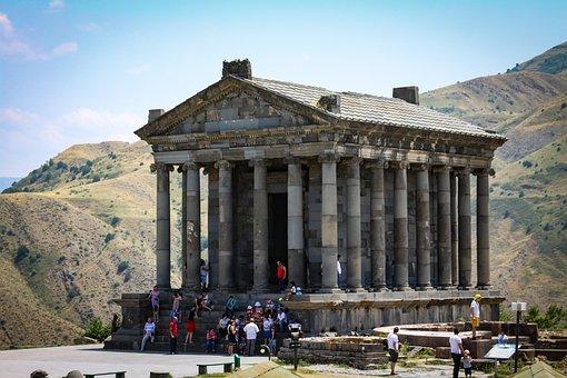Garni, Temple, Historically, Archeology