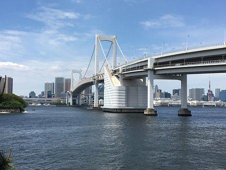 Tokyo Bridge, Tokyo Bay, Tokyo, Japan