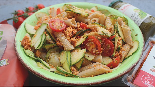 Noodles, Pasta, Zucchini, Recipe, Eat