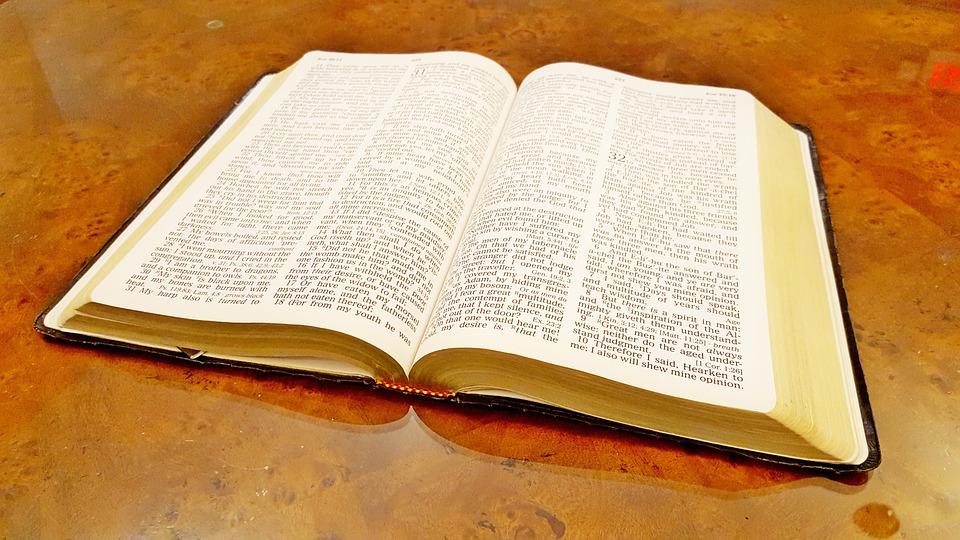 Biblia Abierta Cristiano Foto Gratis En Pixabay