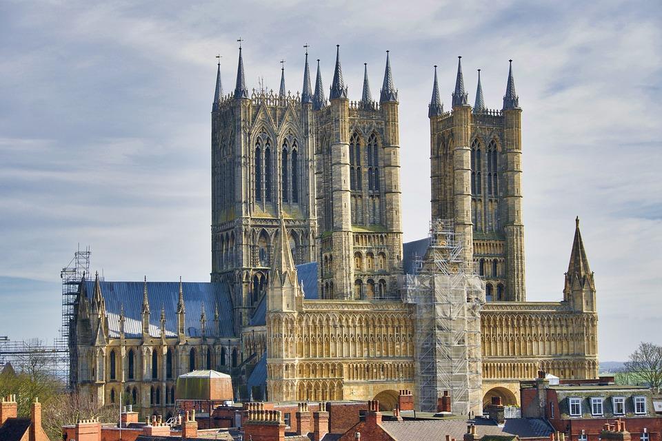 Katedral Lincoln Arsitektur - Foto gratis di Pixabay