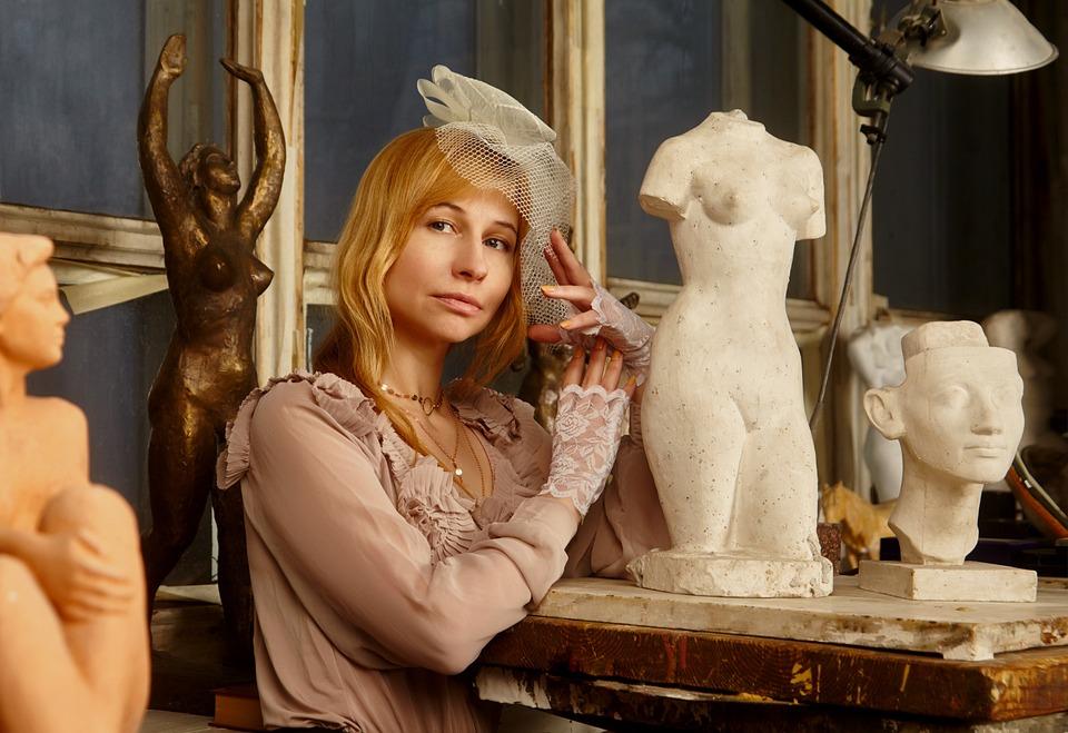 彫刻 彫刻家 女の子 - Pixabayの無料写真