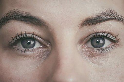 Mata, Wanita, Perempuan, Merapatkan