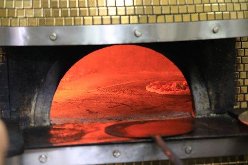 Pizzeria, Naples, Four, Italien