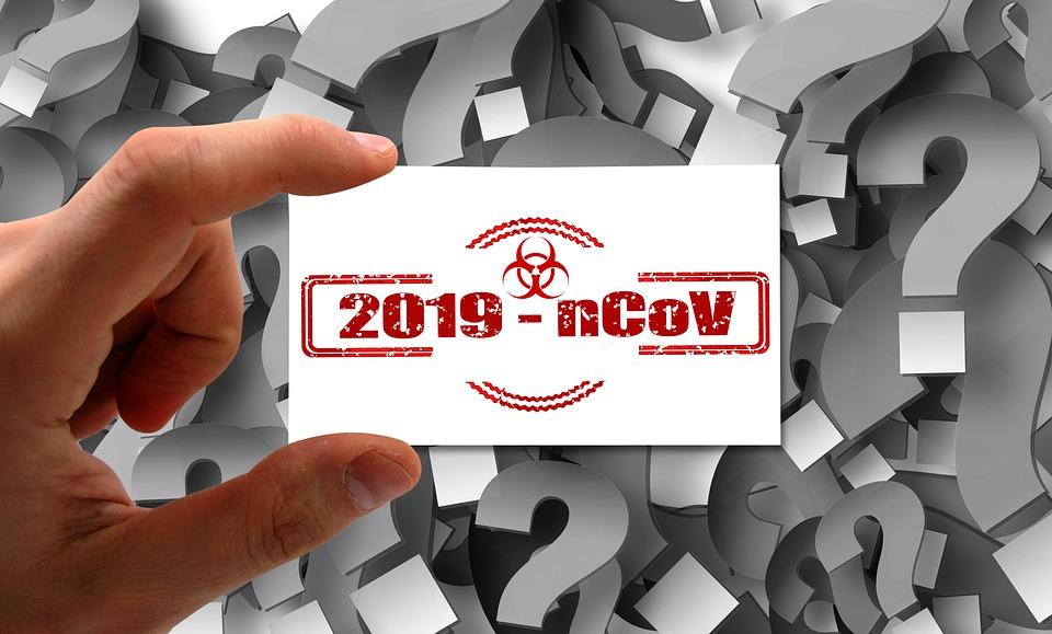 Coronavirus, Virus, Hand, Business Card, Name, China