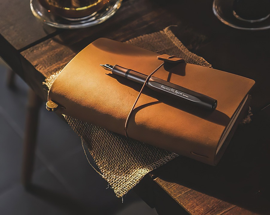 Book, Pen, Notebook, Diary, Desk, Writing, Office