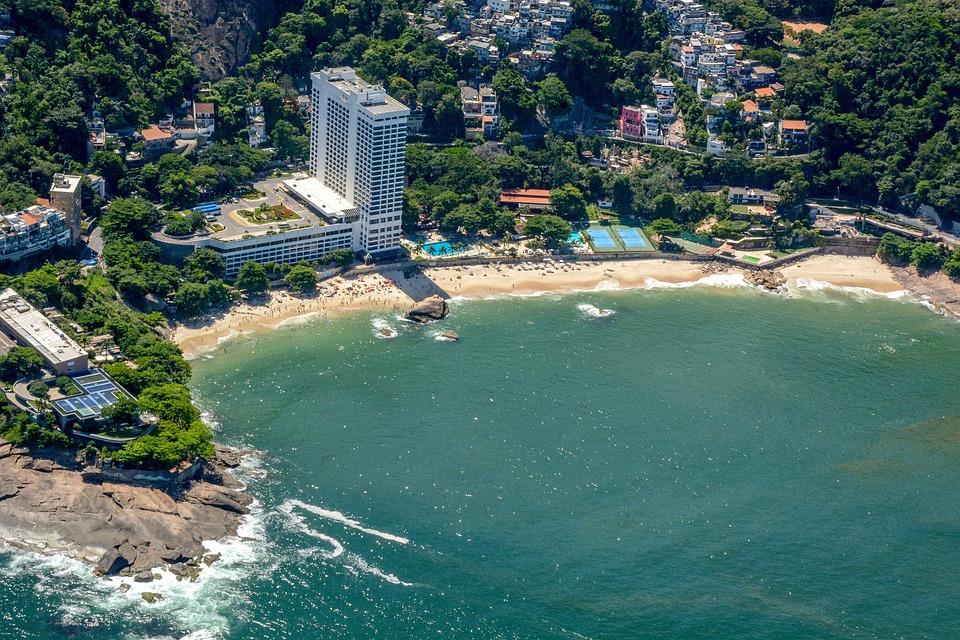 Brazil, Rio, Landscape, Tourism, Beach, Ocean, Mountain