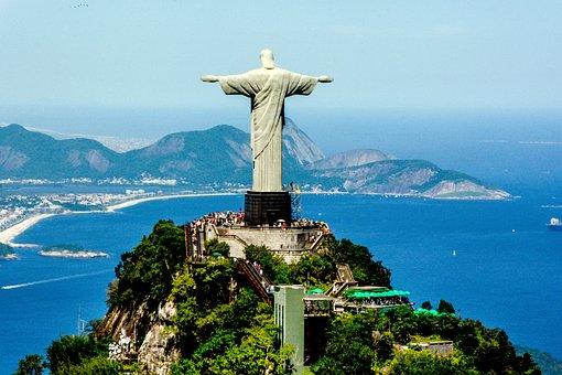 Brasil, Rio, Paisagem, Turismo, Oceano