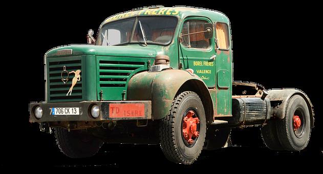 Berliet, Truck, France, Tractor Unit