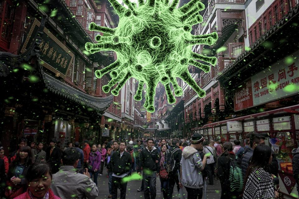 Coronavirus, ウイルス, パンデミック, 中国, 病気, 衛生, アウトブレイク, 流行, 道路