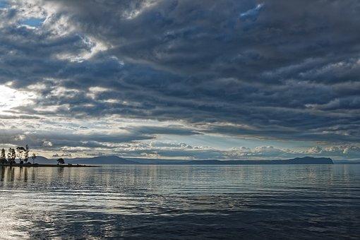 Nueva Zelanda, Lago Taupo, Lago, Aguas