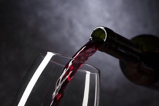 Vinho, Garrafa De Vinho, Vinho Tinto