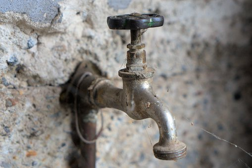 Faucet, Water, Sanitary, Valve, Old