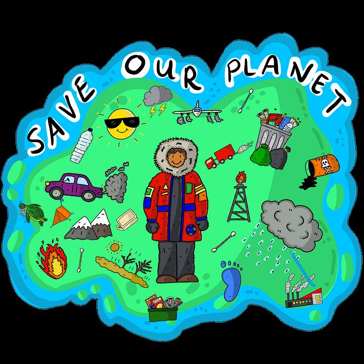 Planeten, Erde, Umwelt, Klimawandel, Greta Thunberg