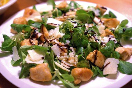 Salad, Lamb'S Lettuce, Parmesan, Healthy