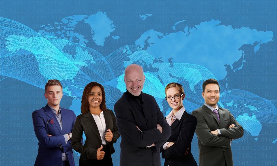 チーム, ボス, スタッフ, ビジネス, リーダー, 多様性, チームワーク, Professional