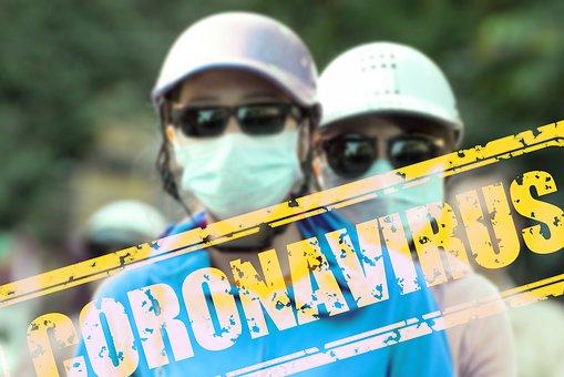 Coronavirus, 繧ヲ繧、繝ォ繧ケ, 蜿」繧ャ繝シ繝�, 蜻シ蜷ク菫晁ュキ繝槭せ繧ッ, 繝槭せ繧ッ