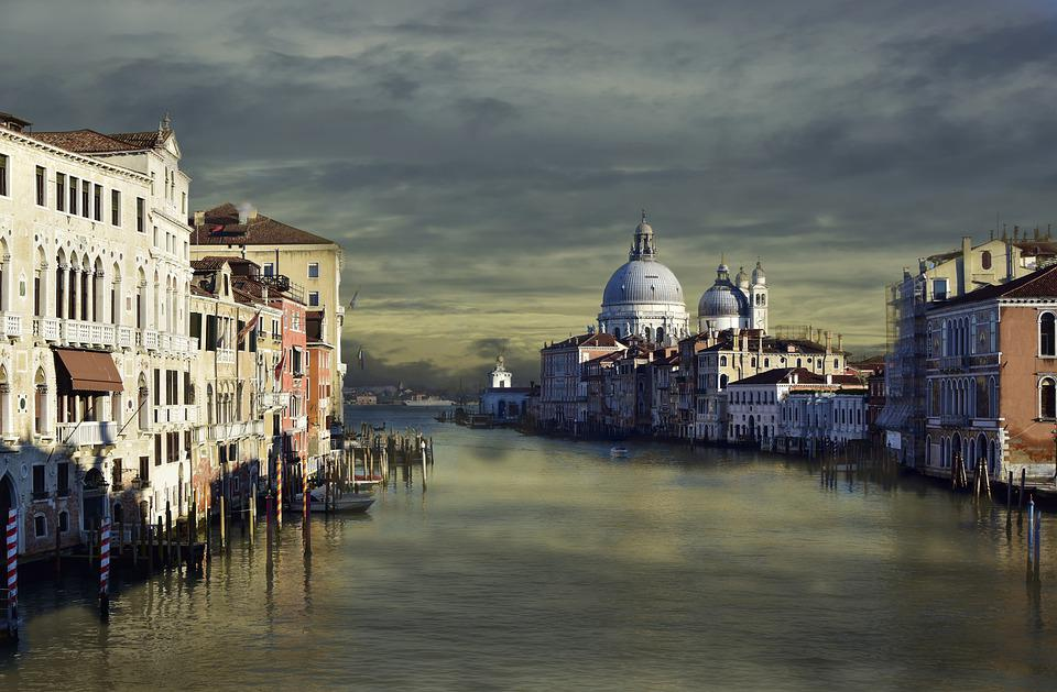 Venice, Architecture, Historic Center