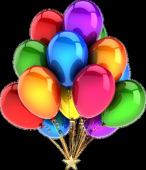 Balloons Mylar, Shiny