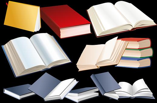 Livros, Página De Livro, Capa Do Livro