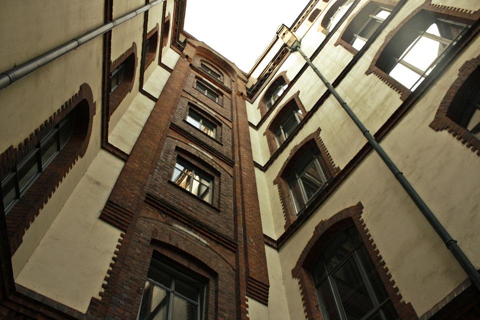 Blok Apartment, Hamburg, Architektura, Dom, Miasta