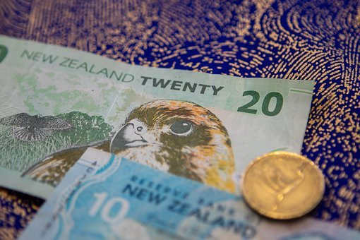 Currency, New Zealand, Gold, Coins