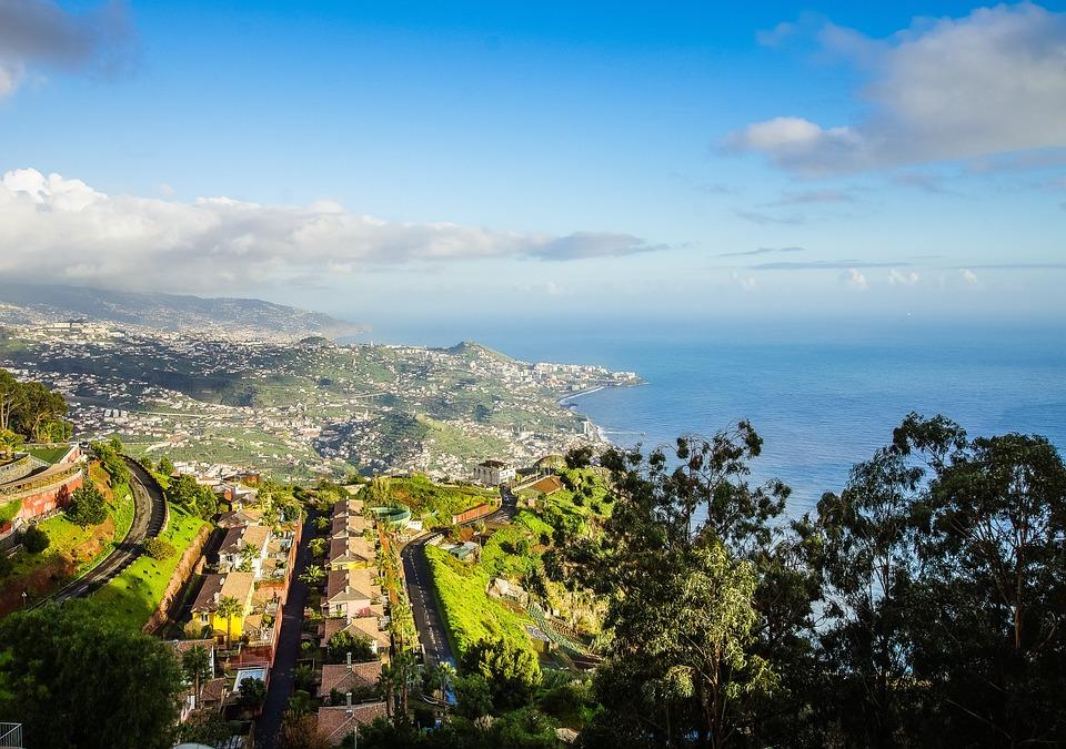 Portugal, Madeira, Cabo Girao, Island, Vacations, Coast